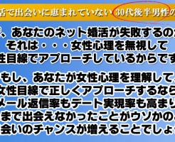 真剣な独身男性のためのネット婚活必勝法 田中大の効果口コミ・評判レビュー